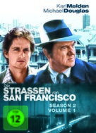 """""""The Streets of San Francisco"""" - German DVD movie cover (xs thumbnail)"""