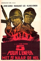5 per l'inferno - Belgian Movie Poster (xs thumbnail)