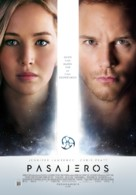 Passengers - Argentinian Movie Poster (xs thumbnail)