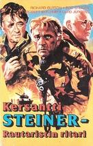 Steiner - Das eiserne Kreuz, 2. Teil - Finnish VHS cover (xs thumbnail)