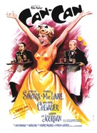 Can-Can - French Movie Poster (xs thumbnail)