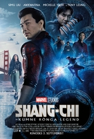Shang-Chi and the Legend of the Ten Rings - Estonian Movie Poster (xs thumbnail)