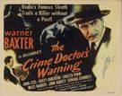 Crime Doctor's Warning - Movie Poster (xs thumbnail)
