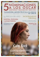 Lady Bird - Spanish Movie Poster (xs thumbnail)