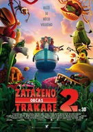 Cloudy with a Chance of Meatballs 2 - Czech Movie Poster (xs thumbnail)