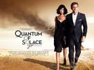 Quantum of Solace - British Movie Poster (xs thumbnail)