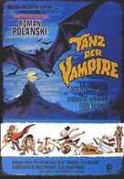 Dance of the Vampires - German Movie Poster (xs thumbnail)