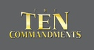 The Ten Commandments - Logo (xs thumbnail)