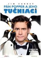 Mr. Popper's Penguins - Slovak Movie Poster (xs thumbnail)