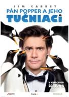 Mr. Popper's Penguins - Slovak Movie Poster (xs thumbnail)