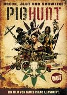 Pig Hunt - German Movie Poster (xs thumbnail)