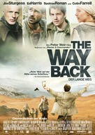 The Way Back - German Movie Poster (xs thumbnail)