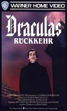 Dracula Has Risen from the Grave - German VHS movie cover (xs thumbnail)