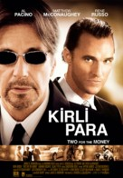 Two For The Money - Turkish Movie Poster (xs thumbnail)