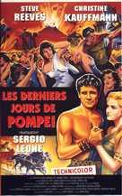 Ultimi giorni di Pompei, Gli - French VHS movie cover (xs thumbnail)