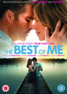 The Best of Me - British DVD cover (xs thumbnail)