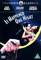 It Happened One Night - British DVD movie cover (xs thumbnail)