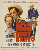 Escape from Fort Bravo - Movie Poster (xs thumbnail)