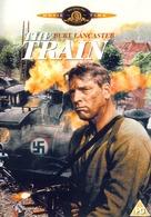 The Train - British DVD cover (xs thumbnail)