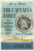 The Captain's Table - British Movie Poster (xs thumbnail)