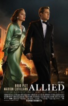 Allied - British Movie Poster (xs thumbnail)