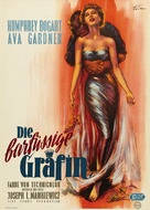 The Barefoot Contessa - German Movie Poster (xs thumbnail)