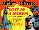 Lost in a Harem - British Movie Poster (xs thumbnail)