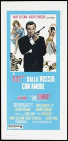 From Russia with Love - Italian Re-release movie poster (xs thumbnail)