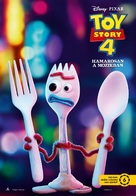 Toy Story 4 - Hungarian Movie Poster (xs thumbnail)