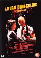Natural Born Killers - British DVD movie cover (xs thumbnail)