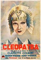 Cleopatra - German Movie Poster (xs thumbnail)