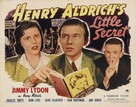 Henry Aldrich's Little Secret - Movie Poster (xs thumbnail)