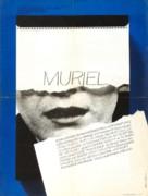Muriel ou Le temps d'un retour - French Movie Poster (xs thumbnail)