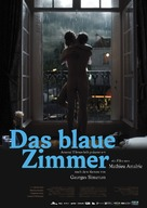 La chambre bleue - German Theatrical movie poster (xs thumbnail)