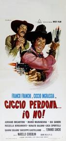 Ciccio perdona... Io no! - Italian Movie Poster (xs thumbnail)