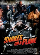 Snakes on a Plane - Danish Movie Poster (xs thumbnail)