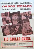 La décade prodigieuse - Swedish Movie Poster (xs thumbnail)