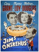 Mr. Blandings Builds His Dream House - Danish Movie Poster (xs thumbnail)