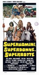 Superuomini, superdonne, superbotte - Italian Movie Poster (xs thumbnail)