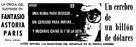Billion Dollar Brain - Spanish Movie Poster (xs thumbnail)