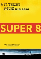 Super 8 - DVD movie cover (xs thumbnail)