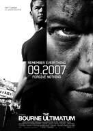 The Bourne Ultimatum - Swedish poster (xs thumbnail)