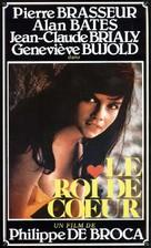 Roi de coeur, Le - French Movie Poster (xs thumbnail)