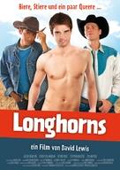 Longhorns - German Movie Poster (xs thumbnail)