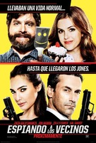 Keeping Up with the Joneses - Mexican Movie Poster (xs thumbnail)