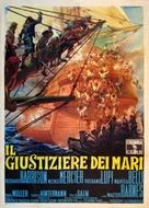 Il giustiziere dei mari - Italian Movie Poster (xs thumbnail)