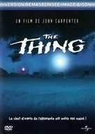 The Thing - French DVD movie cover (xs thumbnail)