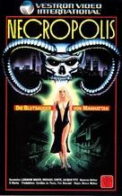 Necropolis - German VHS cover (xs thumbnail)