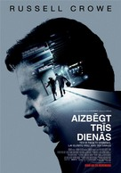 The Next Three Days - Latvian Movie Poster (xs thumbnail)