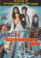 Never Too Young to Die - German Movie Poster (xs thumbnail)